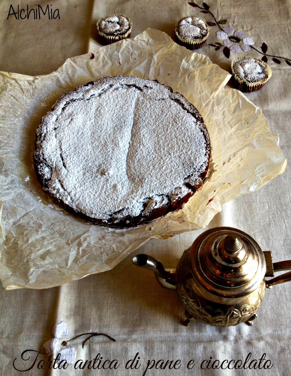 torta antica di pane e cioccolato