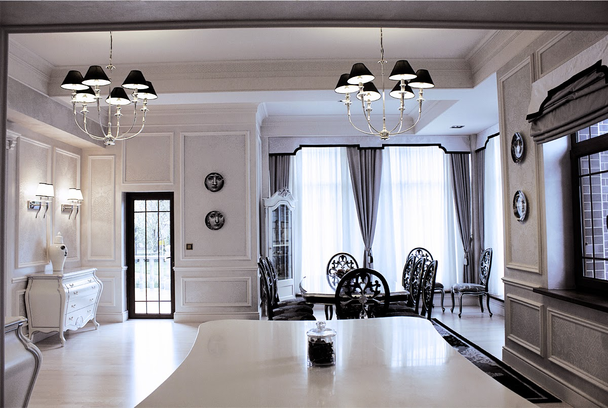 Svetlana roma design black white design by svetlana White interior design