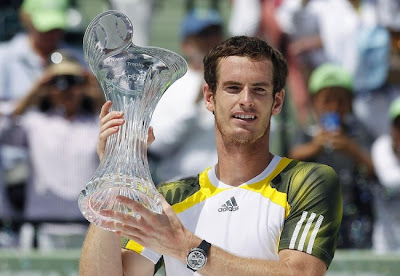 Andy Murray new World No. 2