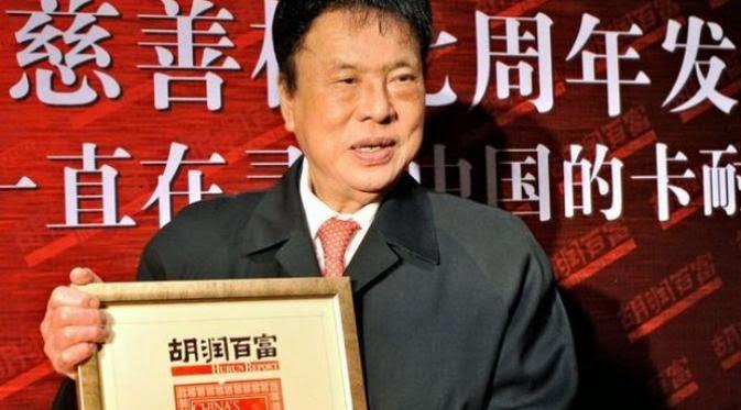 Miliarder china