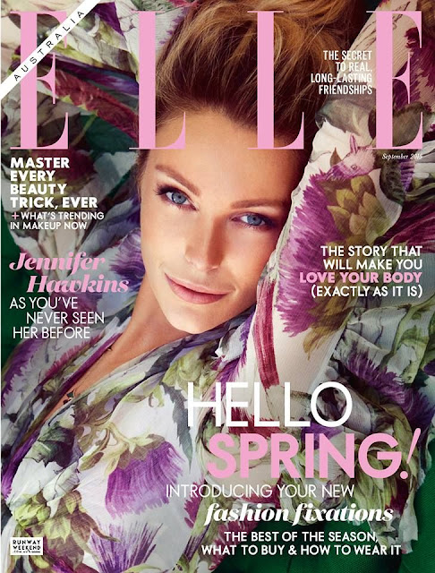 Supermodel @ Jennifer Hawkins - Elle Australia, September 2015