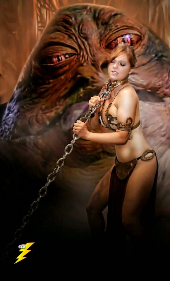 Sexy Star Wars Girls - slave leia