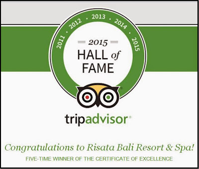 TripAdvisor - 5 Times Certificate of Excellence 2011, 2012, 2013, 2014 & 2015 - Hall of Fame