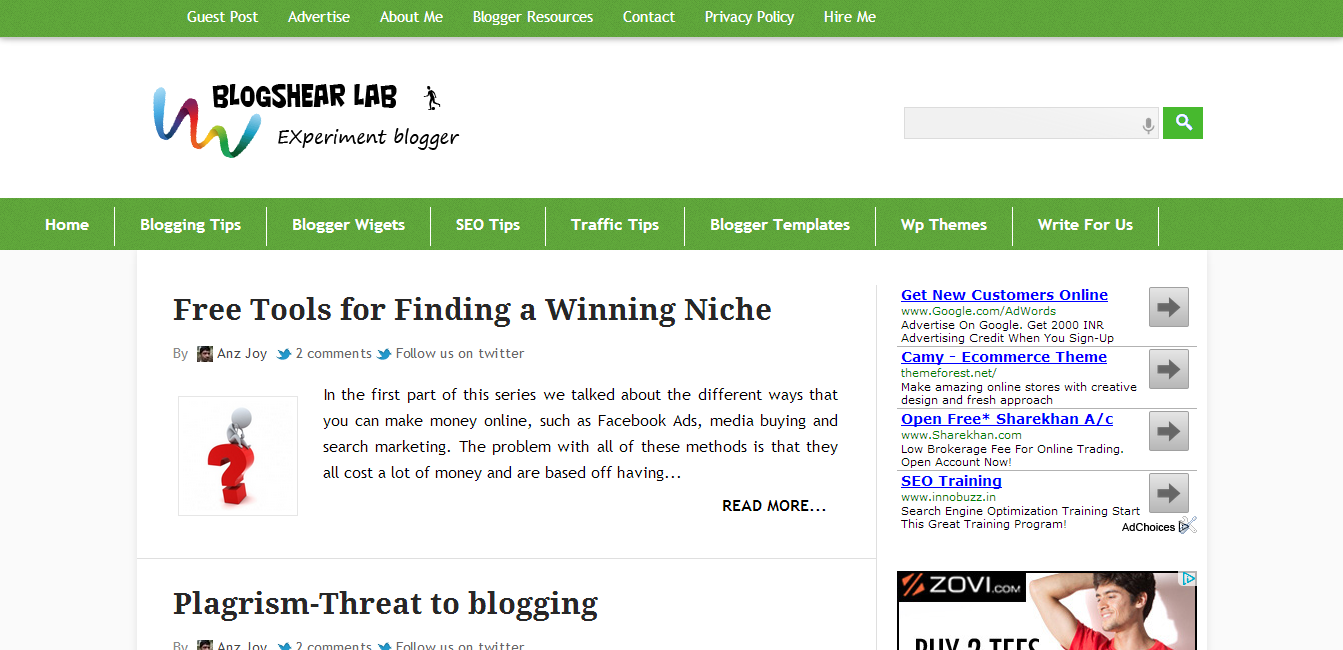 download Best WordPress Converted Free Blogger Templates of 2013