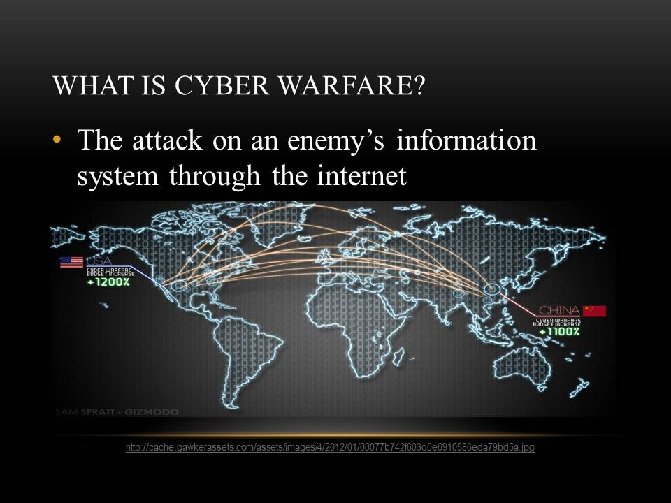 what is cyber warfare Cyber-physical attacks: dawn of a new age in cyber-warfare –computerweeklycom cyberwarfare is computer- or network-based conflict involving politically motivated.
