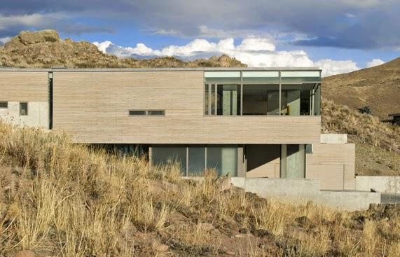 Casas minimalistas y modernas casa moderna en idaho for Casa moderna 9 mirote y blancana