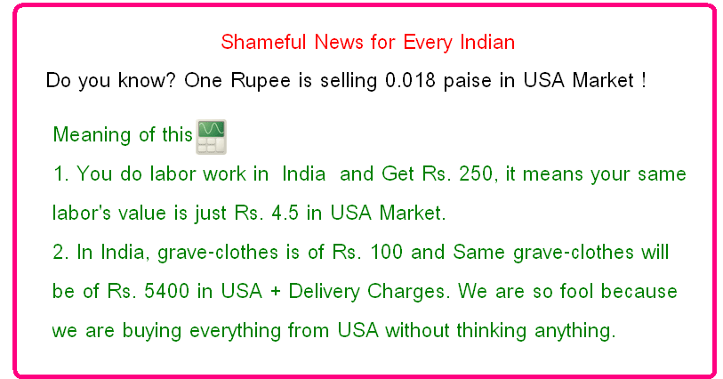 rise in value of rupee in india essay Concerns about rising prices for oil and gold, india's two biggest import items, are   quoting my essay on gold price in india on august 19.