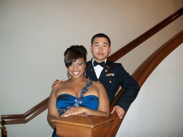 asian man black woman couple