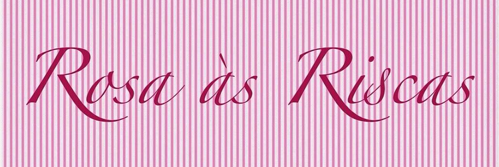 Rosa às Riscas