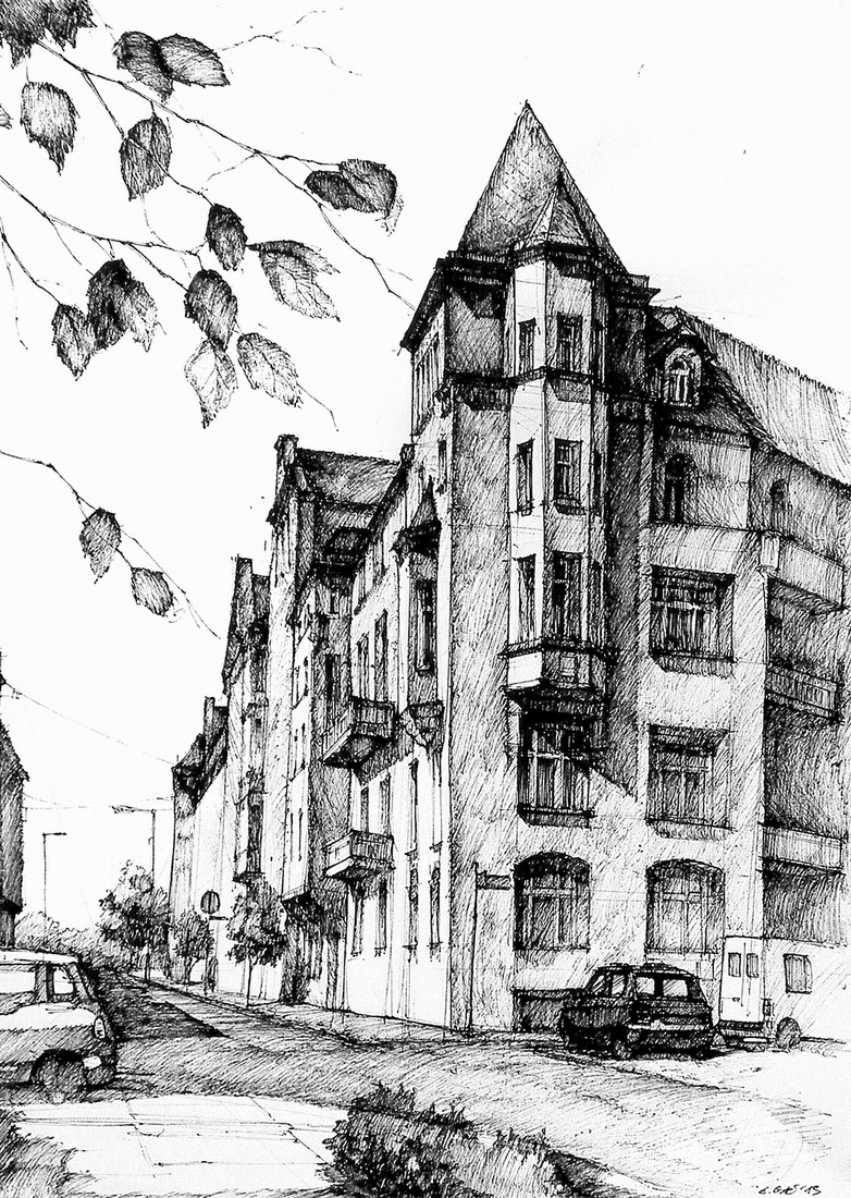13-Wyspiańskiego-Street-Łukasz-Gać-DOMIN-Poznan-Architectural-Drawings-of-Historic-Buildings-www-designstack-co