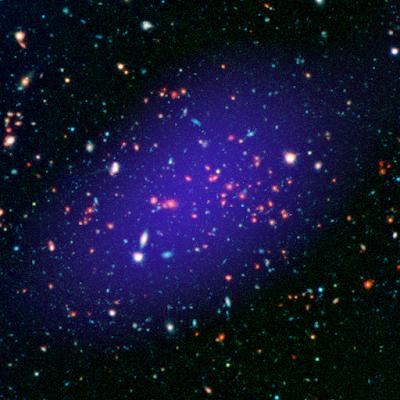 Cientistas encontram uma junção colossal de galáxias