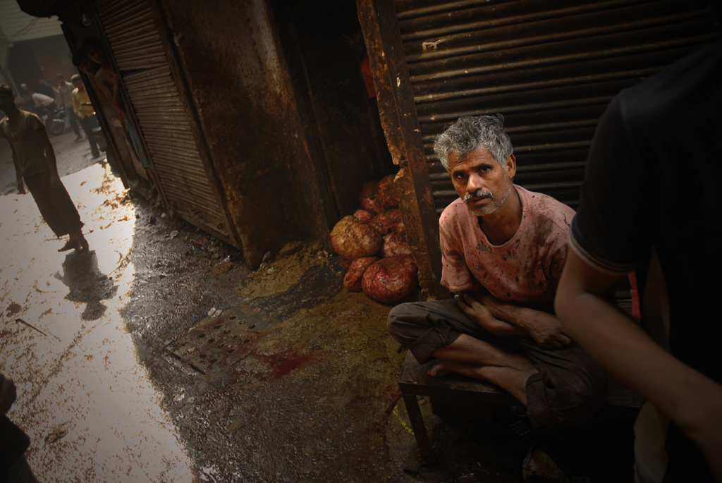 Photo of a man in India