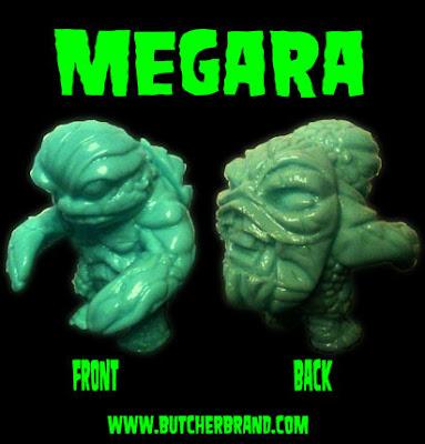 Megara Kaiju Turtle Vinyl Figure by Butcher Brand