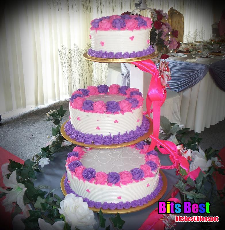 Kek Kahwin BB