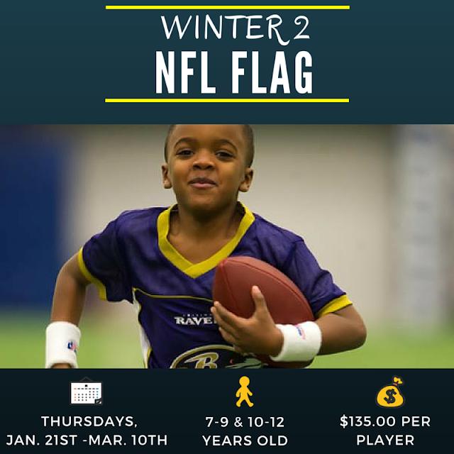 BucksMont Winter 2 NFL Flag