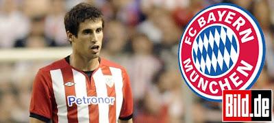 Javi Martinez Bayern Munich 2012