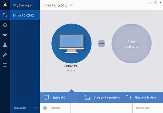 acronis true image how to create bootable cd