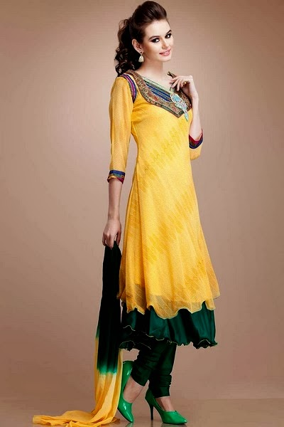 Anarkali suits 2014 2015 latest designer anarkali suits for Online suit builder