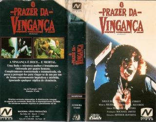 O PRAZER DA VINGANÇA (1984)