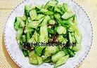 Cucumber with Mashed Garlic