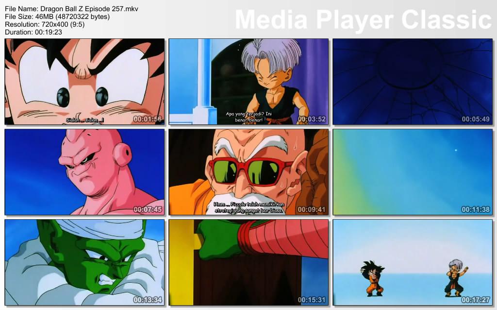 Download Film / Anime Dragon Ball Z Majin Buu Saga Episode 257 Bahasa