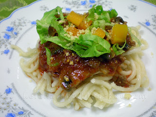 resepi spaghetti