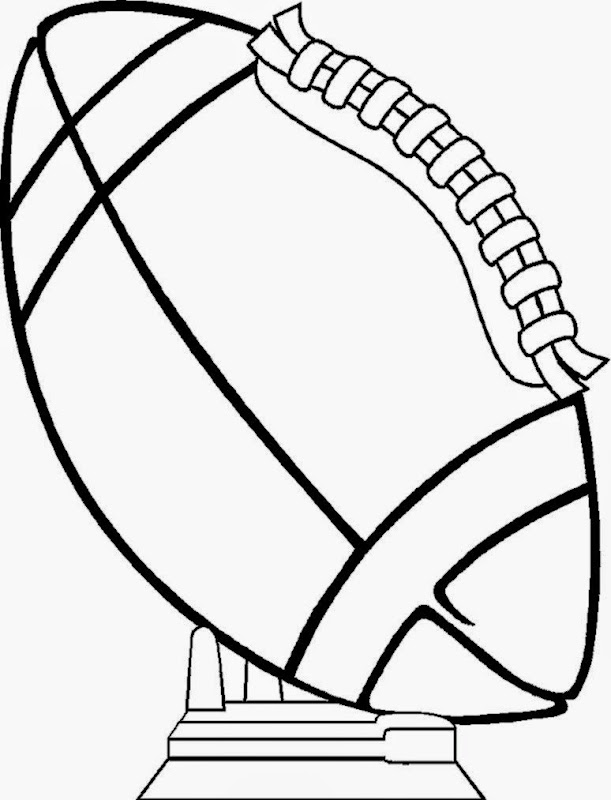 football coloring pages coloring pages printable - Football Coloring Pages Printable