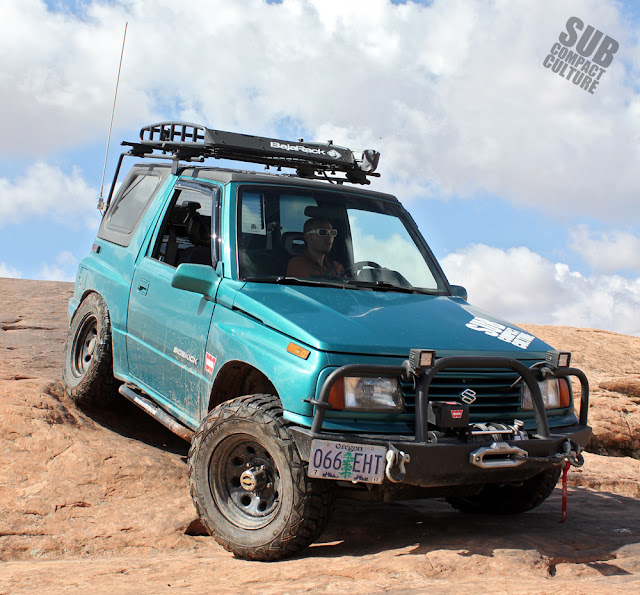 The Teal Terror in Moab