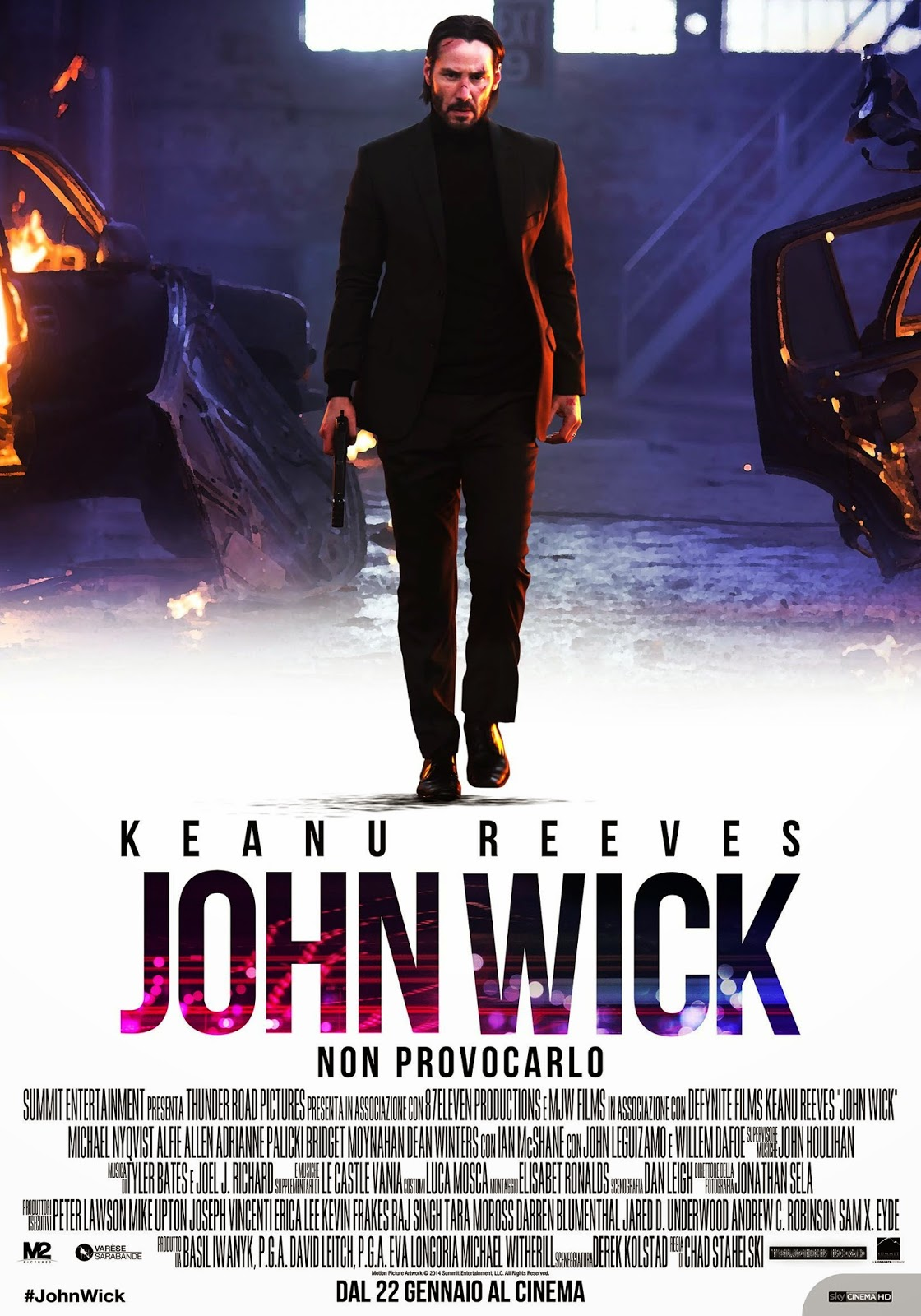 John Wick Poster recensione