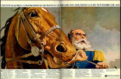 propaganda Banco do Brasil - 1977. os anos 70; propaganda na década de 70; Brazil in the 70s, história anos 70; Oswaldo Hernandez;