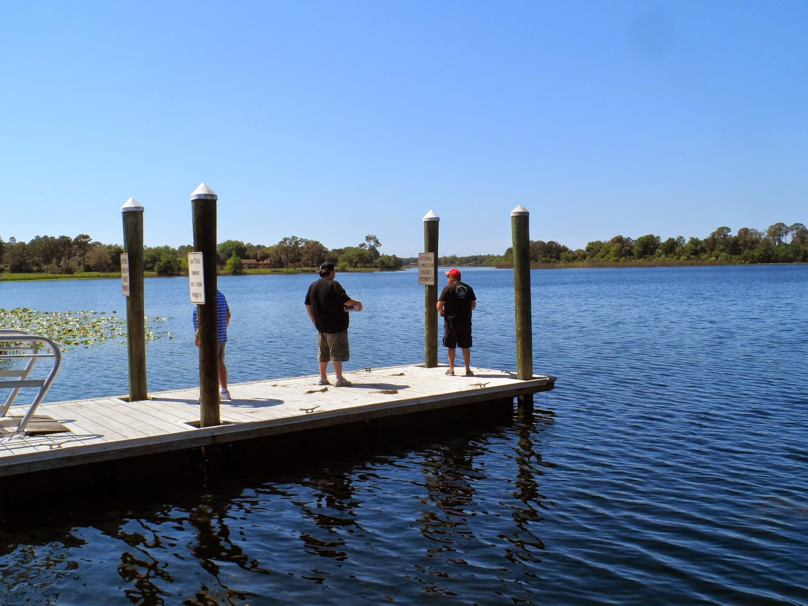 Florida road trip 2015 walsingham park for Fishing tackle tester