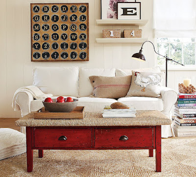 Living Room Decorating Styles on Sunny Living Room  A Variety Of Texture  Central To Rustic Decor