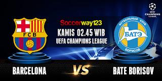 Prediksi Barcelona vs BATE Borisov