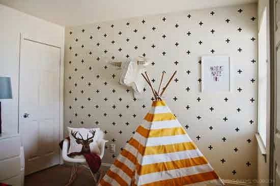 washi tape wall decals