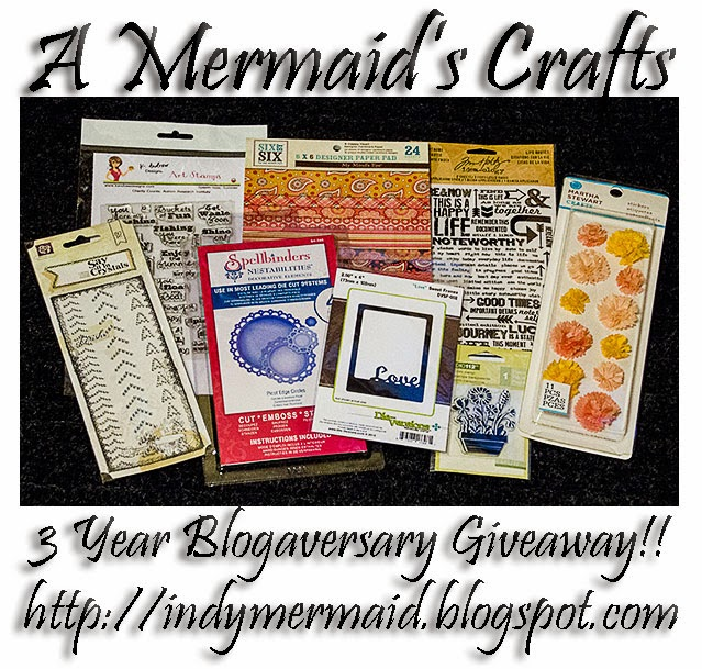 http://indymermaid.blogspot.com/2014/03/3-year-blogaversary-giveaway.html