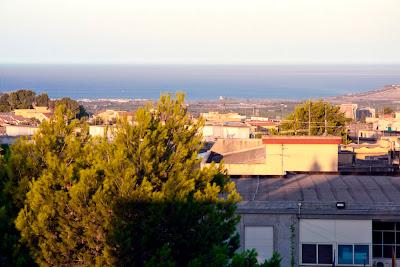 Сицилия. Вид с террасы нашего дома
