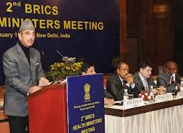 Shri Ghulam Nabi Azad addressed the third BRICS Health