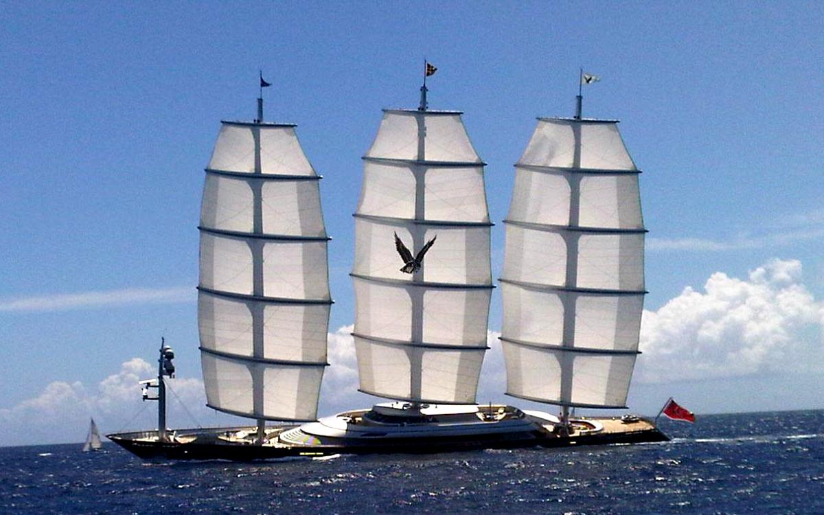 SY Maltese Falcon Sailing Ship Wallpaper 1