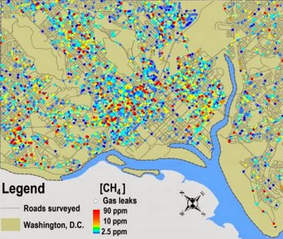 map+(555+x+469) 5,900 Natural Gas Leaks Discovered Under Washington, D.C.