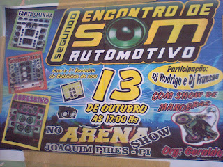 Show de Empinada + Encontro de som automotivo