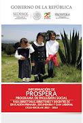 Prospera: Programa de Inclusión Social 2017-2018