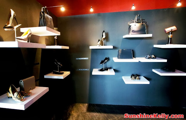 charles & keith, shoes, handbag, latest trend, autumn winter 2013 collection, display