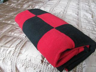 плед, плед из флиса, лоскутное одеяло, плед своими руками
