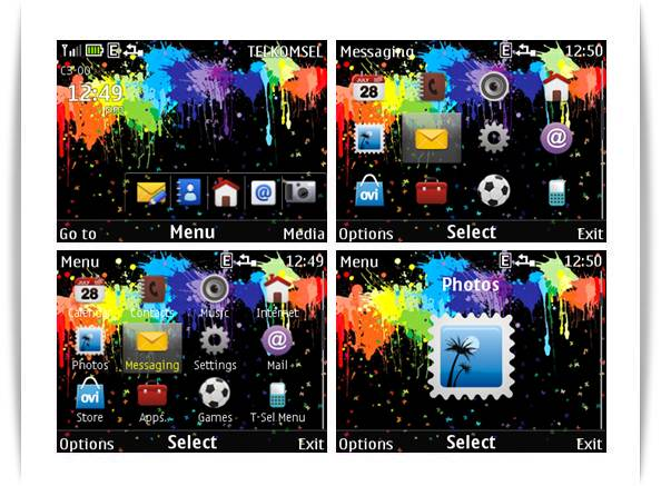 paint color themes for nokia