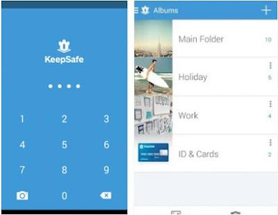 KeepSafe افضل تطبيق اخفاء الصور والفيديوهات على الهواتف