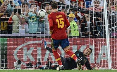 gol de penalti Sergio Ramos al estilo Panenka