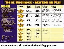 Tiens business plan