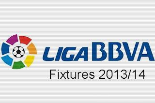 La Liga Fixtures 2013/14