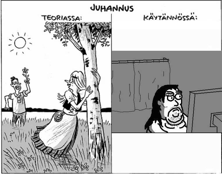Juhannusruno Huumori