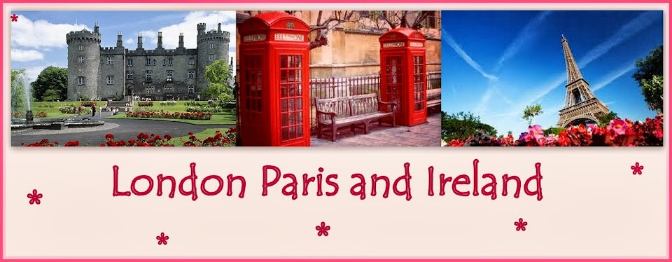 London Paris and Ireland